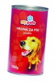 Hrana za pse piletina-puretina, govedina My Pets 1250 g