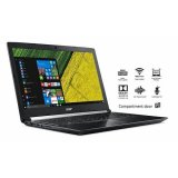"Notebook Acer Aspire Gaming 7, NX.GPGEX.016, 17.3"" FHD IPS, Intel Core i7 7700HQ up to 3.8GHz, 8GB DDR4, 1TB HDD, NVIDIA GeForce GTX1050Ti 4GB, no ODD, Linux, 2 god - AKCIJA"