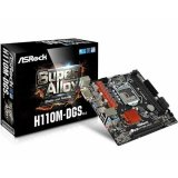 Matična ploča ASROCK H110M-DGS R3.0, Intel H110, DDR4, mATX, s. 1151