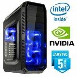 Računalo INSTAR Gamer Alpha Pro, Intel Core i5-7500 up to 3.80GHz, 8GB DDR4, 1TB HDD, NVIDIA GeForce GTX1060 6GB DDR5, DVD-RW, 5 god jamstvo - AKCIJA