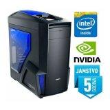 Računalo INSTAR Gamer Anubis, Intel Core i7 7700 up to 4.0GHz, 16GB DDR4, 1TB HDD, NVIDIA GeForce GTX1080 8GB DDR5, DVD-RW, 5 god jamstvo - AKCIJA