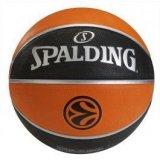 Spalding 10357 5 Tf150 Euroleague, košarkaška lopta, crna