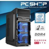 Pc Računalo magazinrs gamer (intel i5 7400 3.0 ghz, rx570, 8gb ram, hdd 1tb, dvd-rw)