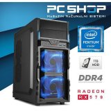 Pc Računalo magazinrs kaby (intel g4560 3.5ghz, rx 570 4gb, 8gb ddr4 ram, hdd 1tb, dvd-rw)