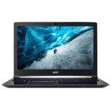 Prijenosno računalo ACER Aspire 7 NX.GP9EX.036 / Core i5 7300HQ, 8GB, SSD 256GB, GeForce GTX 1050Ti, 15.6'' LED FHD, Linux, crno