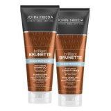 John Frieda Brilliant Brunette šampon i regenerator