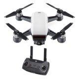 Dron DJI Spark + GRATIS daljinski upravljač, Alpine White, FullHD kamera, 2-osni gimbal, bijeli