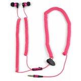 Satzuma Slušalica bungee earphones - pink