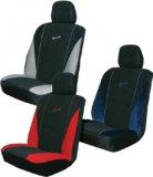Presvlake sjedala univerzalne crvene/plave/sive Deluxe