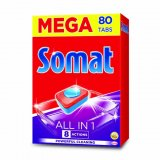Deterdžent za strojno pranje posuđa Somat 80 kom