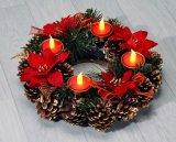 -25% na adventske svijeće vijence i umjetne borove
