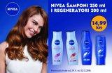 Nivea šamponi 250 ml i regeneratori 200 ml