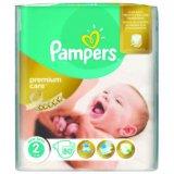 Dječje pelene Pampers Premium care 2 pak + gratis 1 pak