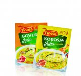 Kokošja ili goveđa juha s tjesteninom Fineta 65 g