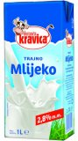 Trajno mlijeko 2,8% m.m. Domaća kravica 1 l