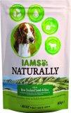 Suha hrana za odrasle pse više vrsta Iams Naturally 800g