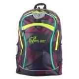 Wheel Bee LED NIGHT-VISION 30, dječji ruksak, ljubičasta