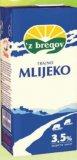 Mlijeko trajno 3,5 % m.m. Zbregov 1L