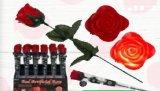 Ruža crvena s led svjetlom