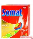 Tablete za strojno pranje posuđa Somat Gold