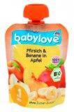 Voćni pire jabuka ili breskva ili banana babylove 90 g
