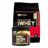 100% Whey Gold Standard 2,7 kg + Pre Workout, 88 g GRATIS