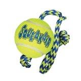 Kong Igračka za psa, Tennis ball w/rope, Medium, zvučna, 53x7x7cm