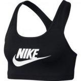 Nike NIKE PRO CLSC SWSH BRA FUTURA, ženski sportski top, crna