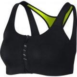 Nike W NP BRA ZIP, ženska fitnes majica, crna