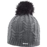 Salomon IVY BEANIE, ženska skijaška kapa, siva
