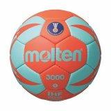 Rukometna lopta MOLTEN H1X3000, sintetička koža, vel.1, narančasto/tirkizna
