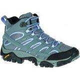 Merrell MOAB 2 MID GTX, ženske cipele za planinarenje, siva