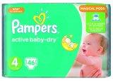 Pelene Pampers Active baby value pack različite vrste 1 pak