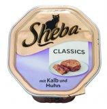 Hrana za mačke Sheba teletina i piletina u štruci 85 g
