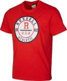 Muška majica Russell Athletic Collegiate Rosette printed S/S crewneck Tee shirt