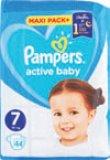 Dječje pelene active Pampers 44 do 80 komada