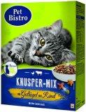 Suha hrana za mačke Knusper-Mix Pet Bistro 1 kg