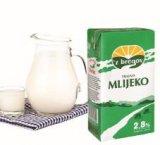 Trajno mlijeko 2,8% m.m. 'z Bregov Vindija 1 l