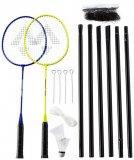 Tecnopro Speed 200-2 player net set, set za badminton, žuta