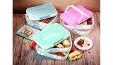 Kutija za hranu s poklopcem i ručkom dvostruka 40x30x18cm