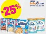 -25% na sva Nestle Nan zamjenska mlijeka za bebe i baby deserte