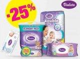 -25% na sve Violeta pelene i vlažne maramice za bebe