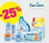 -25% na svu Becutan kozmetiku za bebe i deterdžente