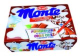 Mliječni desert okus čokolade i lješnjaka Monte Zott 4x 55 g