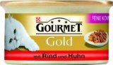 Mokra hrana za mačke više vrsta Gourmet Gold 85 g