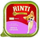 Mokra hrana za pse Gold Mini Rinti 100 g