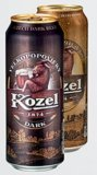 Pivo Kozel premium 0,5 l