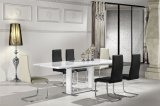 Blagavaonski stol mediapan visoki sjaj Nika 140/190x90x76 cm