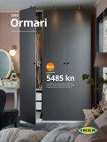 Ikea katalog Ormari 01.01.-31.12.2020.