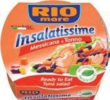 Salata od tune Rio Mare razne vrste 160 g